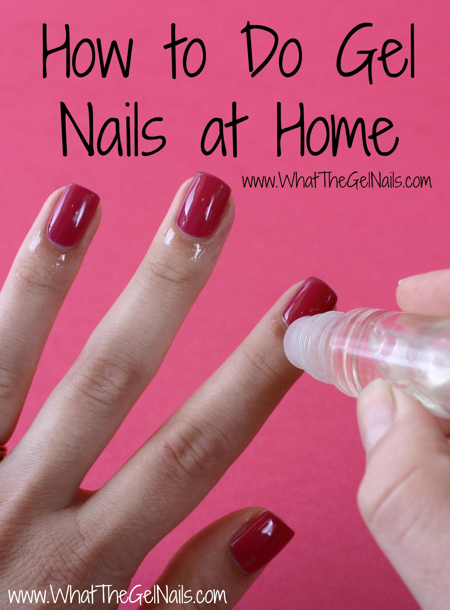 to Do Gel Nails at Home