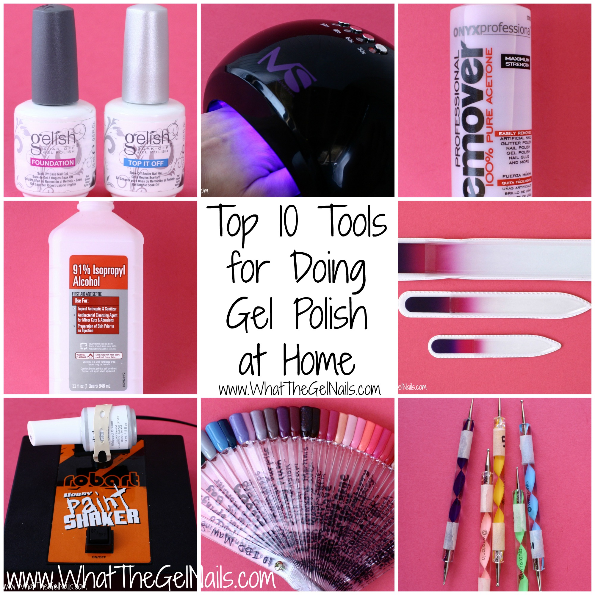 Top 10 tools for doing gel polish at home top 10 toolsg solutioingenieria Images