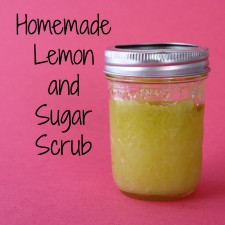 Lemon and Sugar Scrub