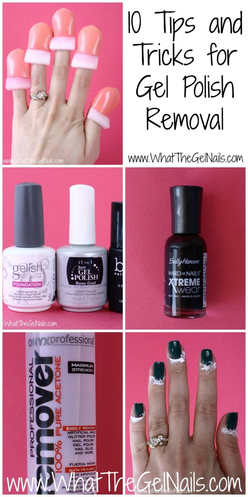 10 Tips and Tricks for Gel Polish Removal