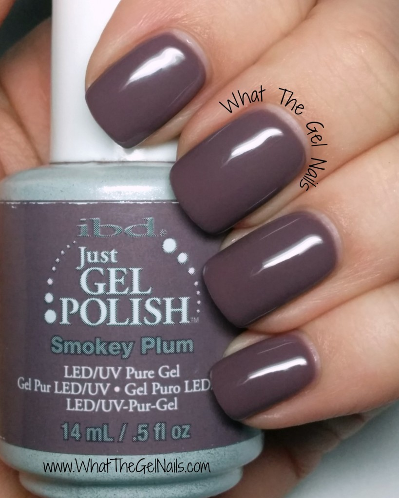 IBD Smokey Plum, plus more IBD Just Gel Colors.
