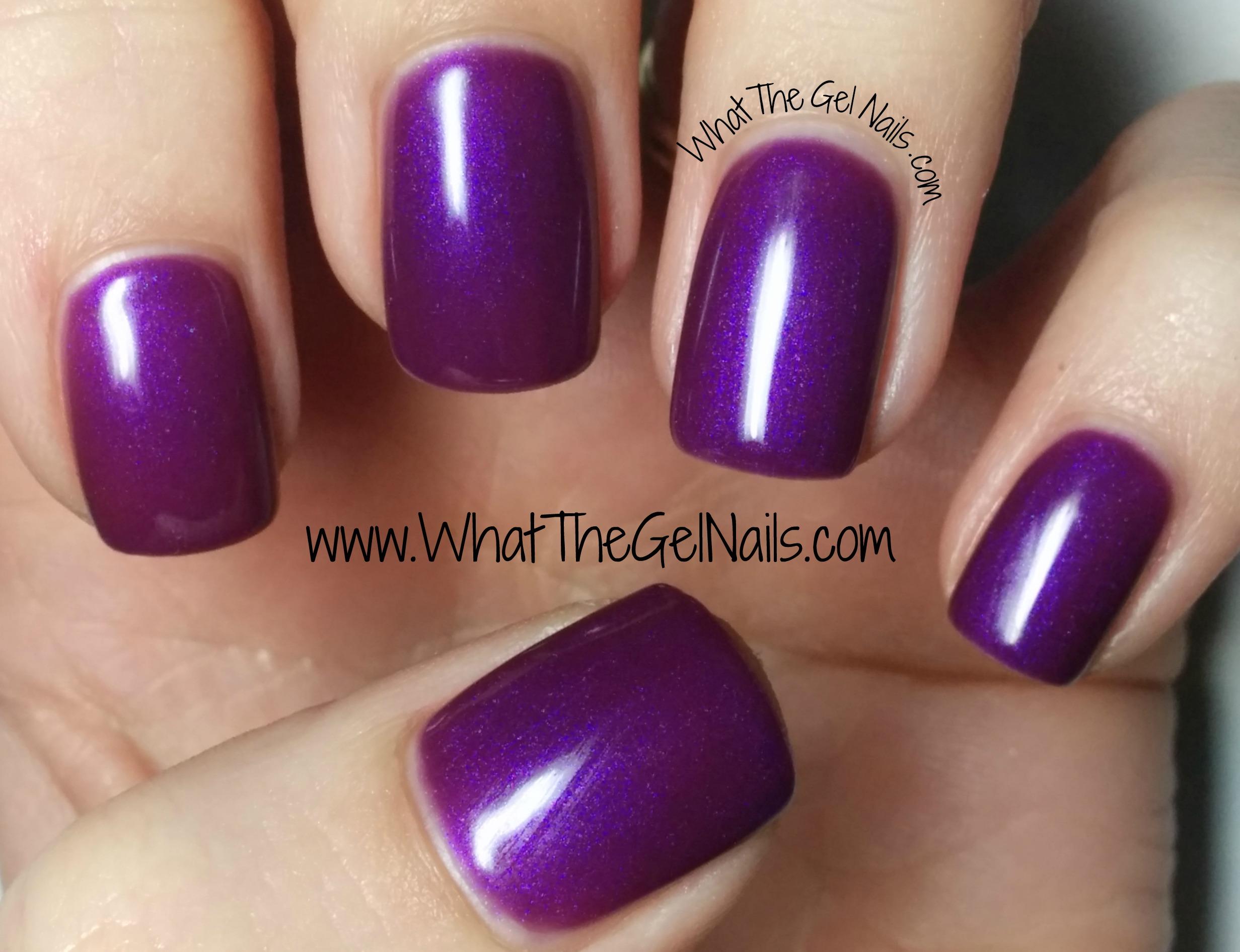 IBD Con Fuchsion Plus More Just Gel Nail Polish Colors