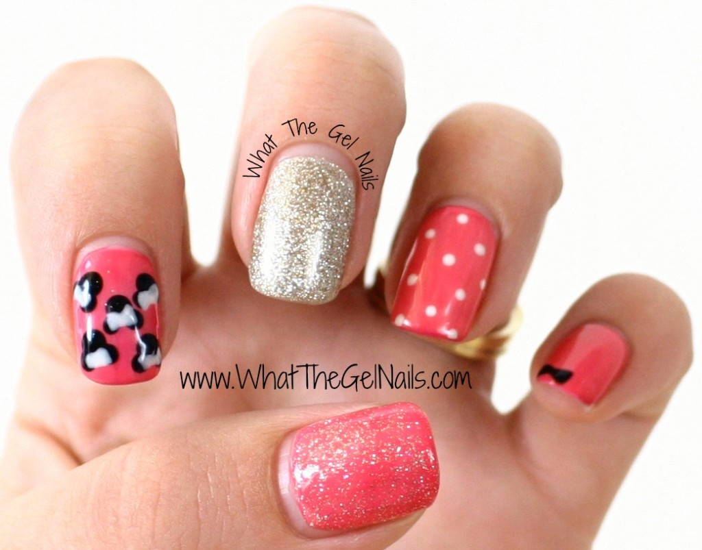 Disney Gel Polish Manicure