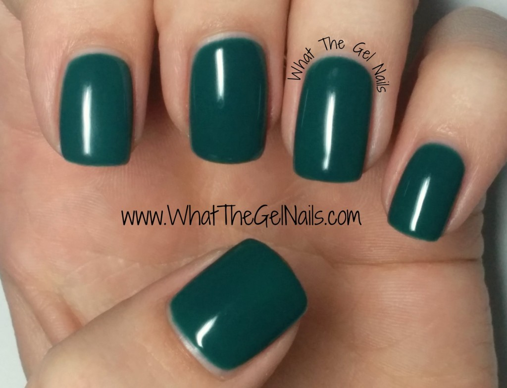 IBD Green Monster plus more Christmas gel nail colors.