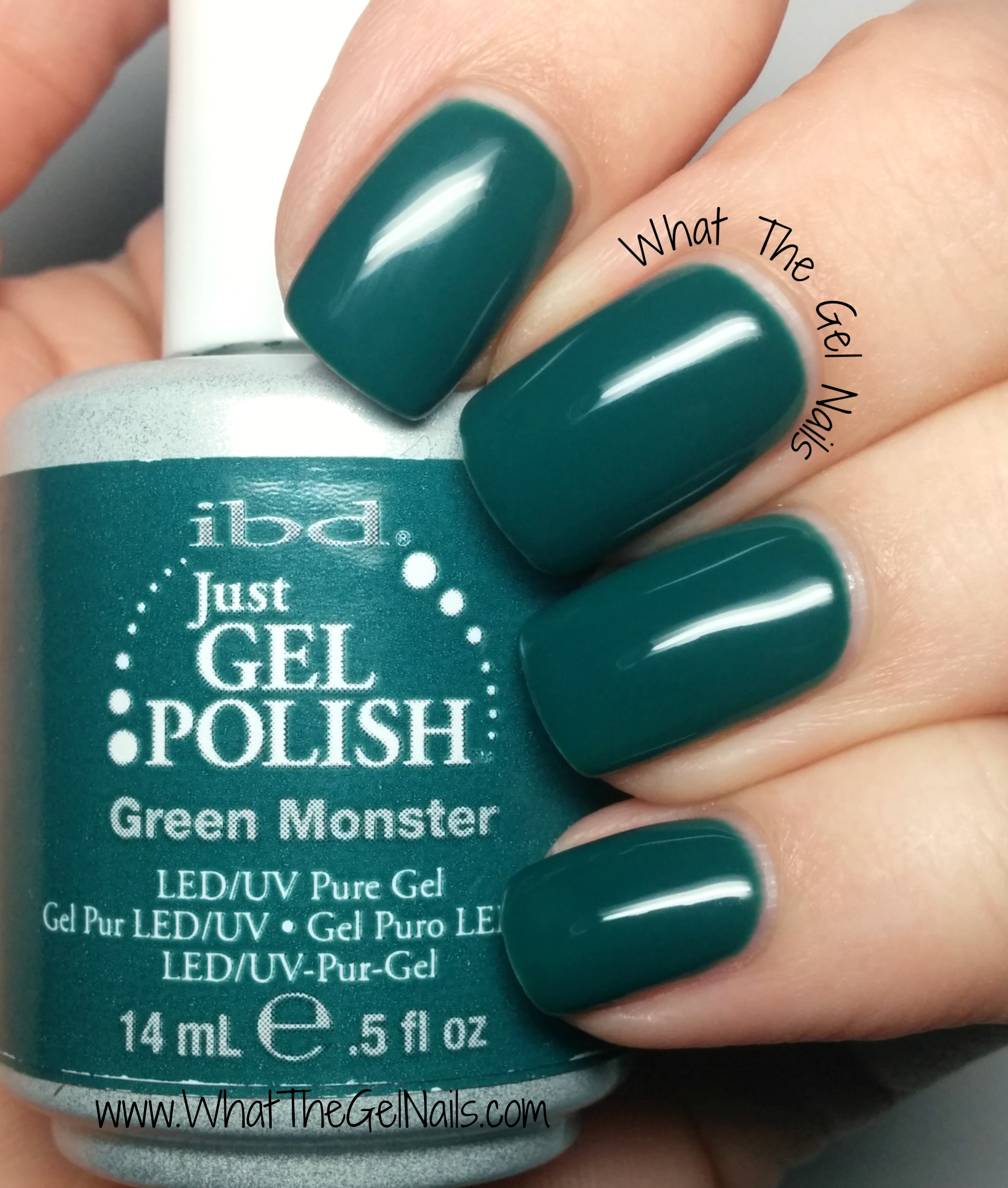 ibd green monster plus more christmas gel nail colors