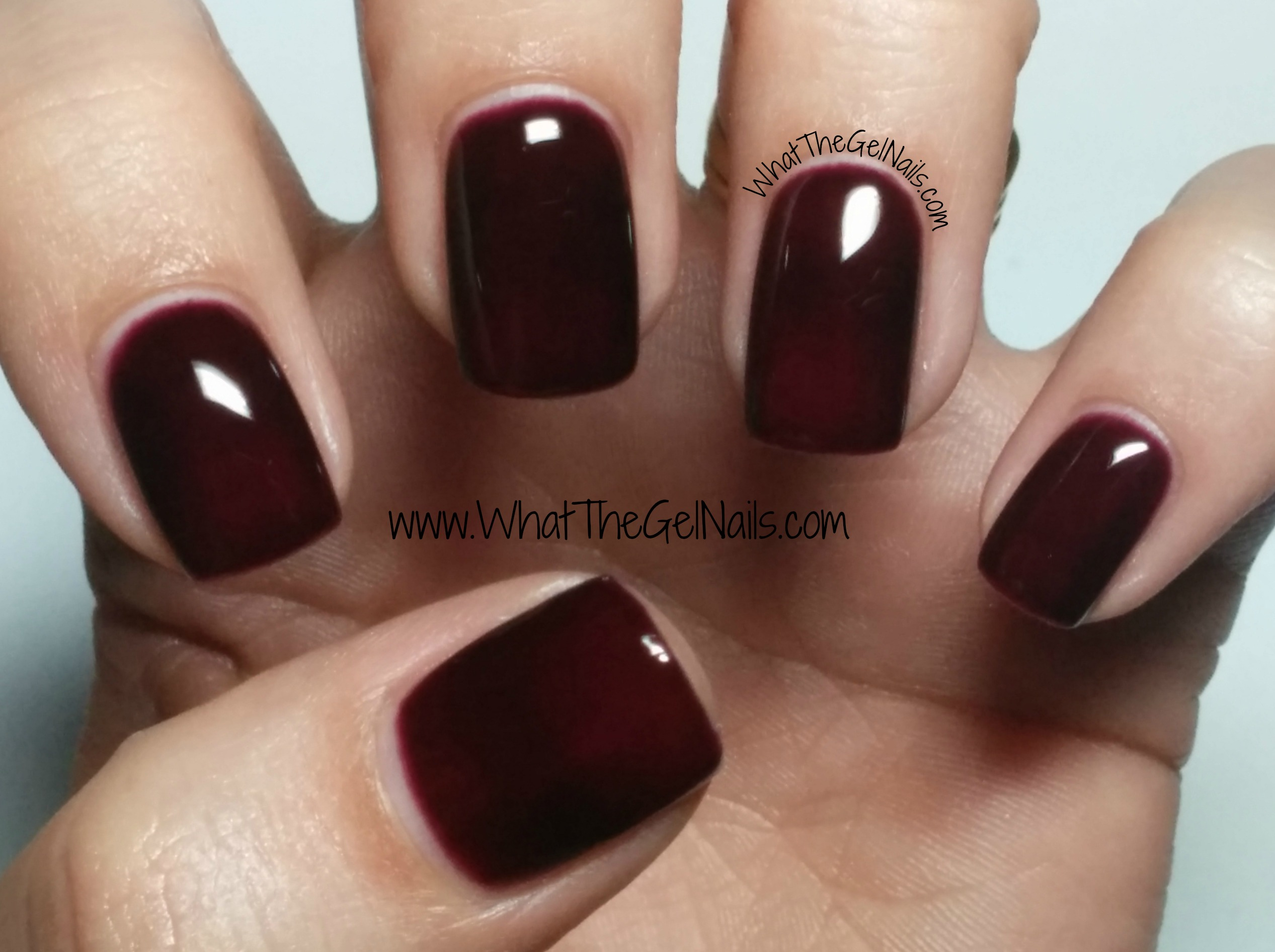 gel polish colors for winter