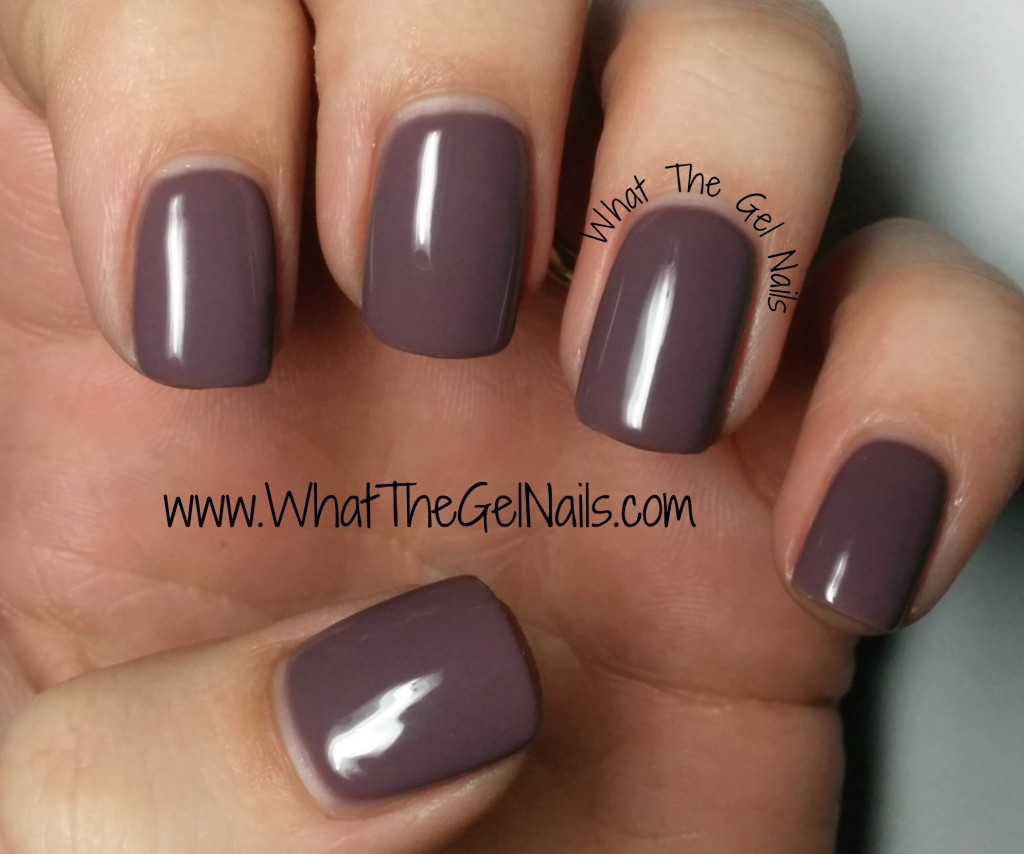 The magenta color is a good balance – not too pink and not too purple – for a manicure.
