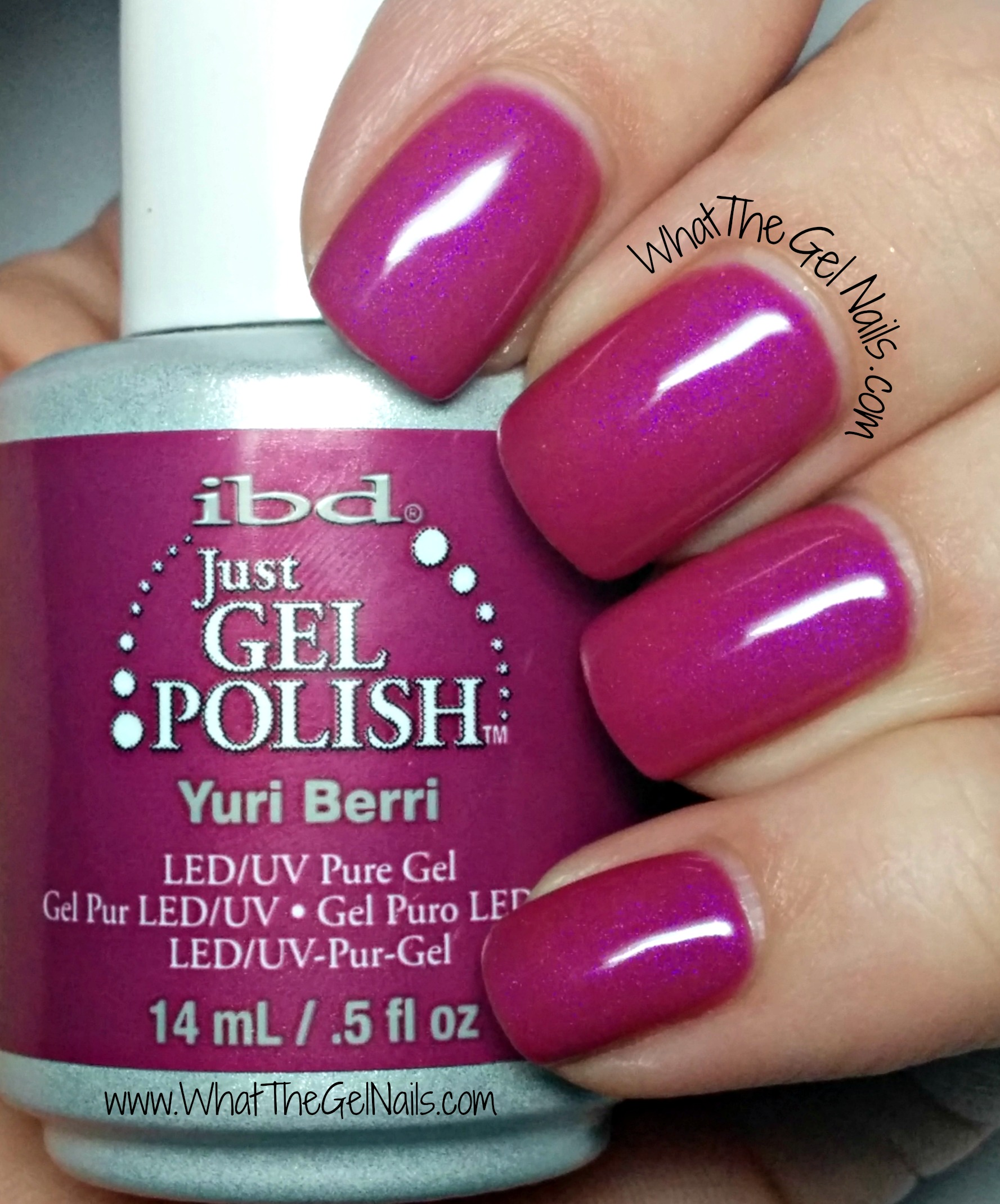 Purple Gel Nail Polish: Purple And Pink Swatches Of IBD Just Gel Nail Polish Colors
