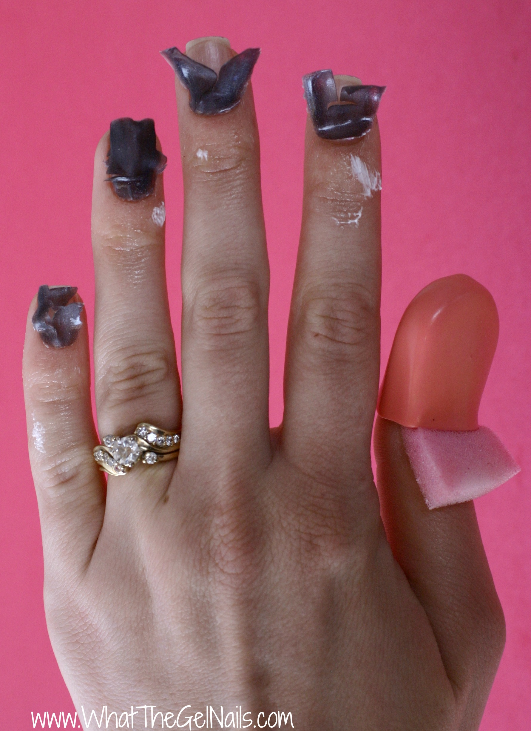 Gel Nails With Chrome Accent Nail: Nail Mates For Gel Polish Removal