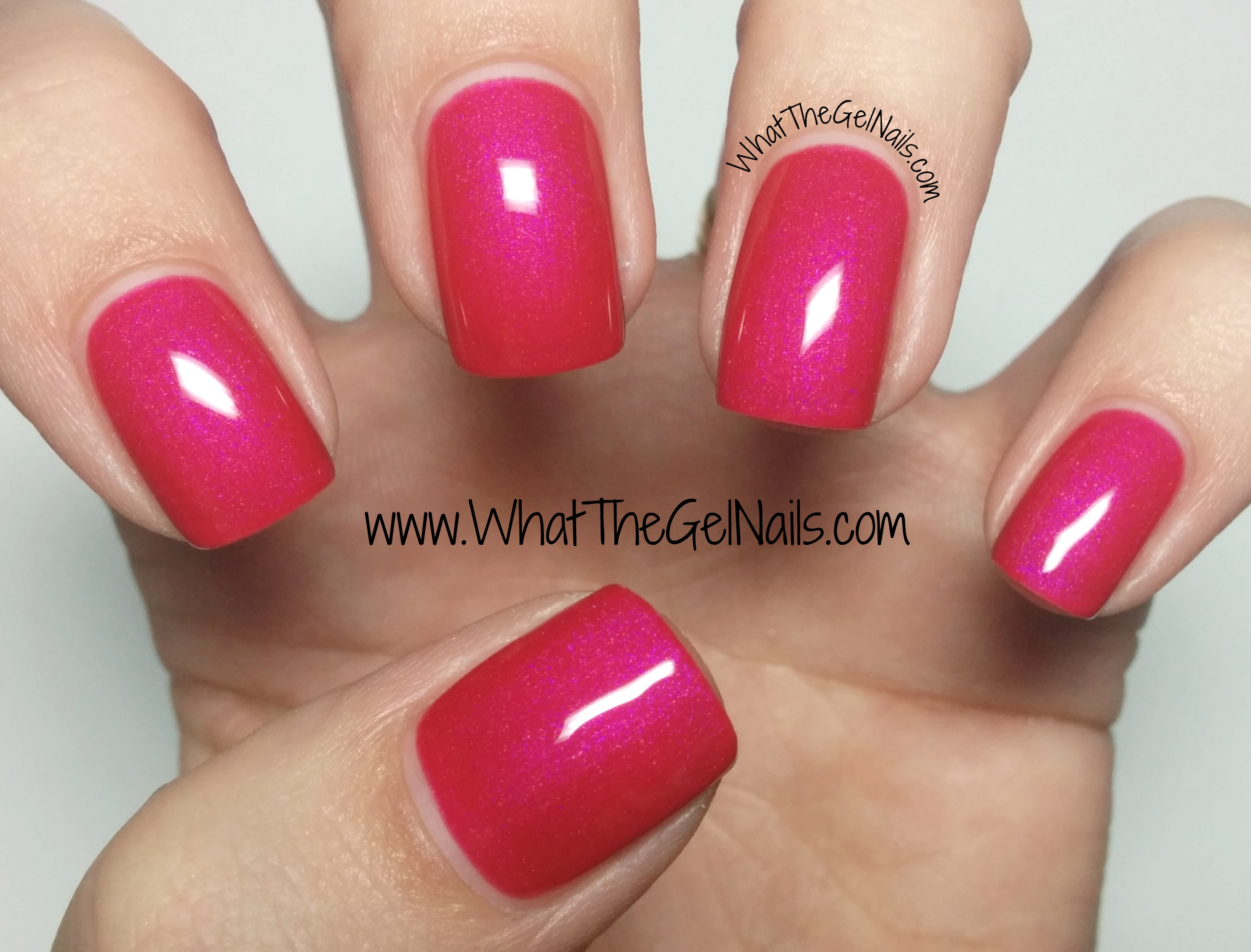 Pink IBD Just Gel Nail Polish Colors