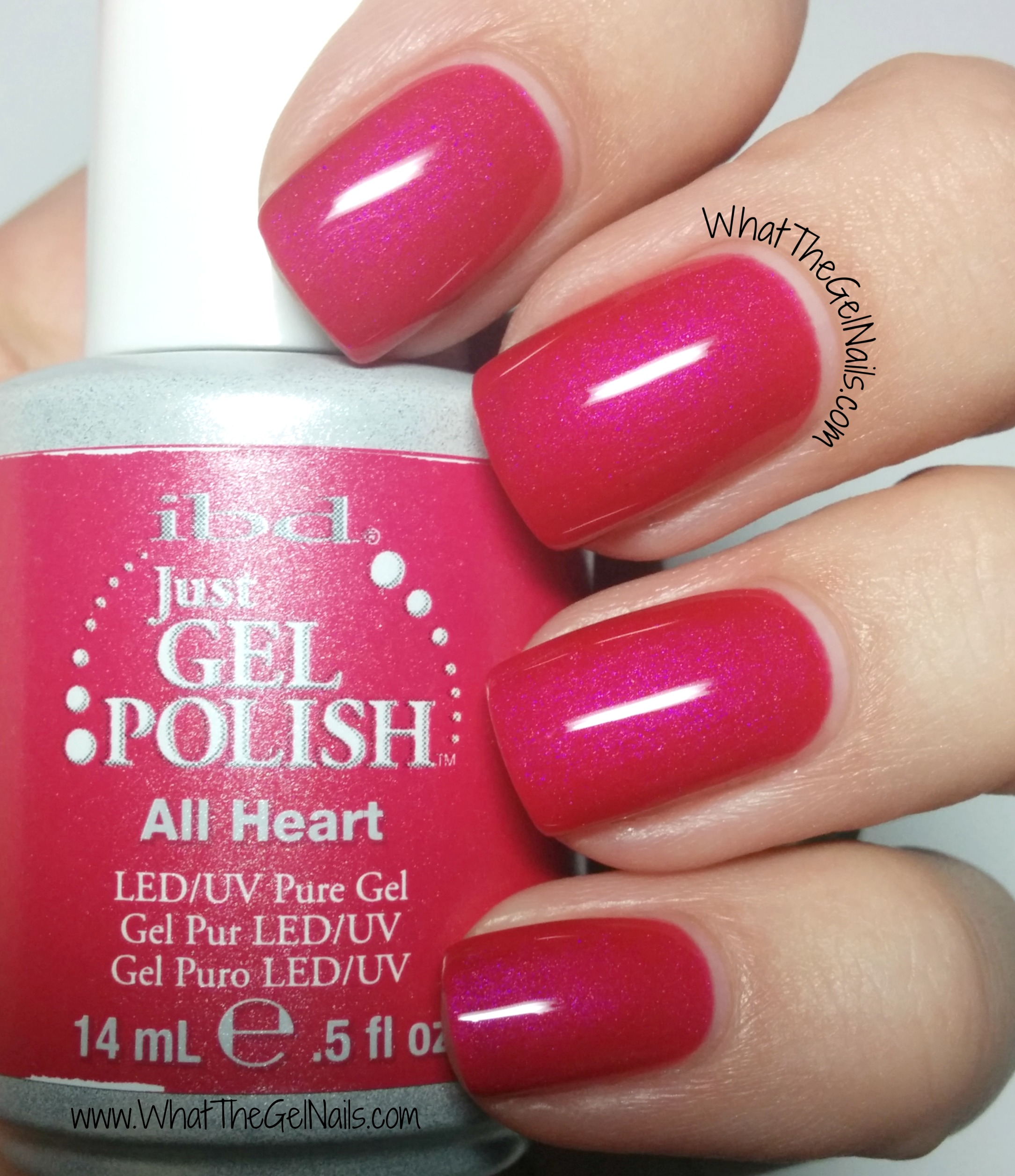 Nail Colors: 4 Pink IBD Just Gel Nail Polish Colors