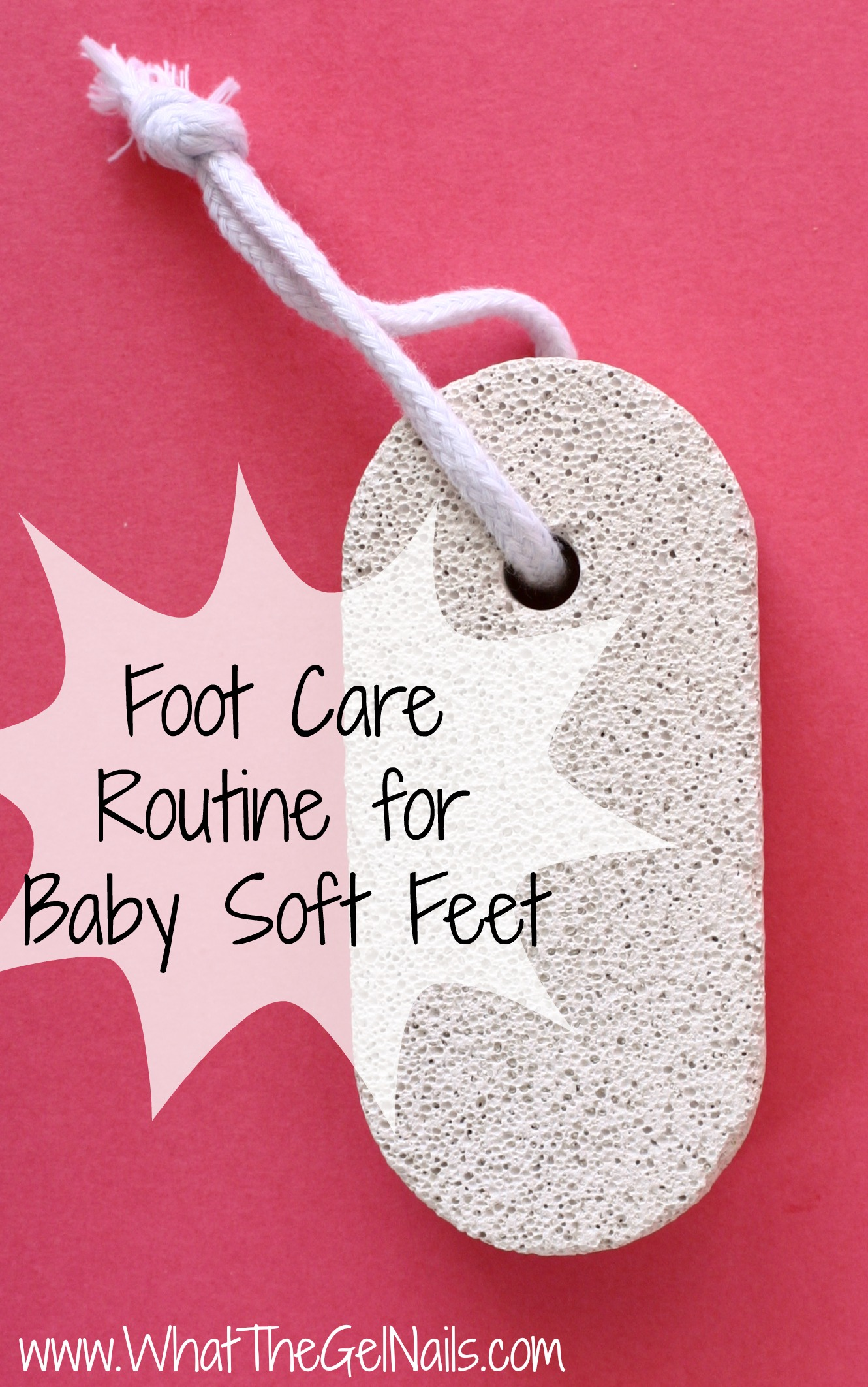 feet care routine
