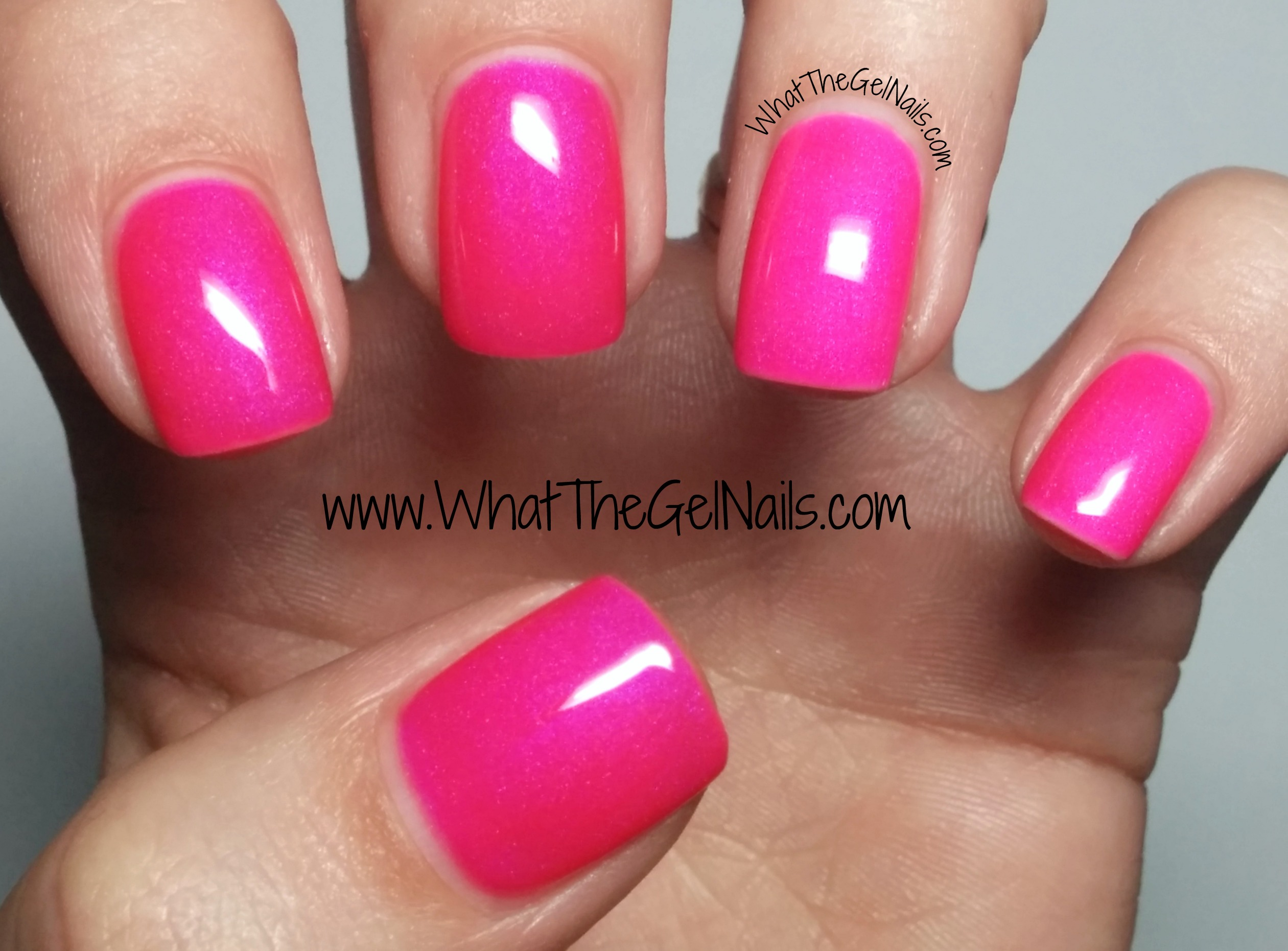 4 Pink IBD Just Gel Nail Polish Colors