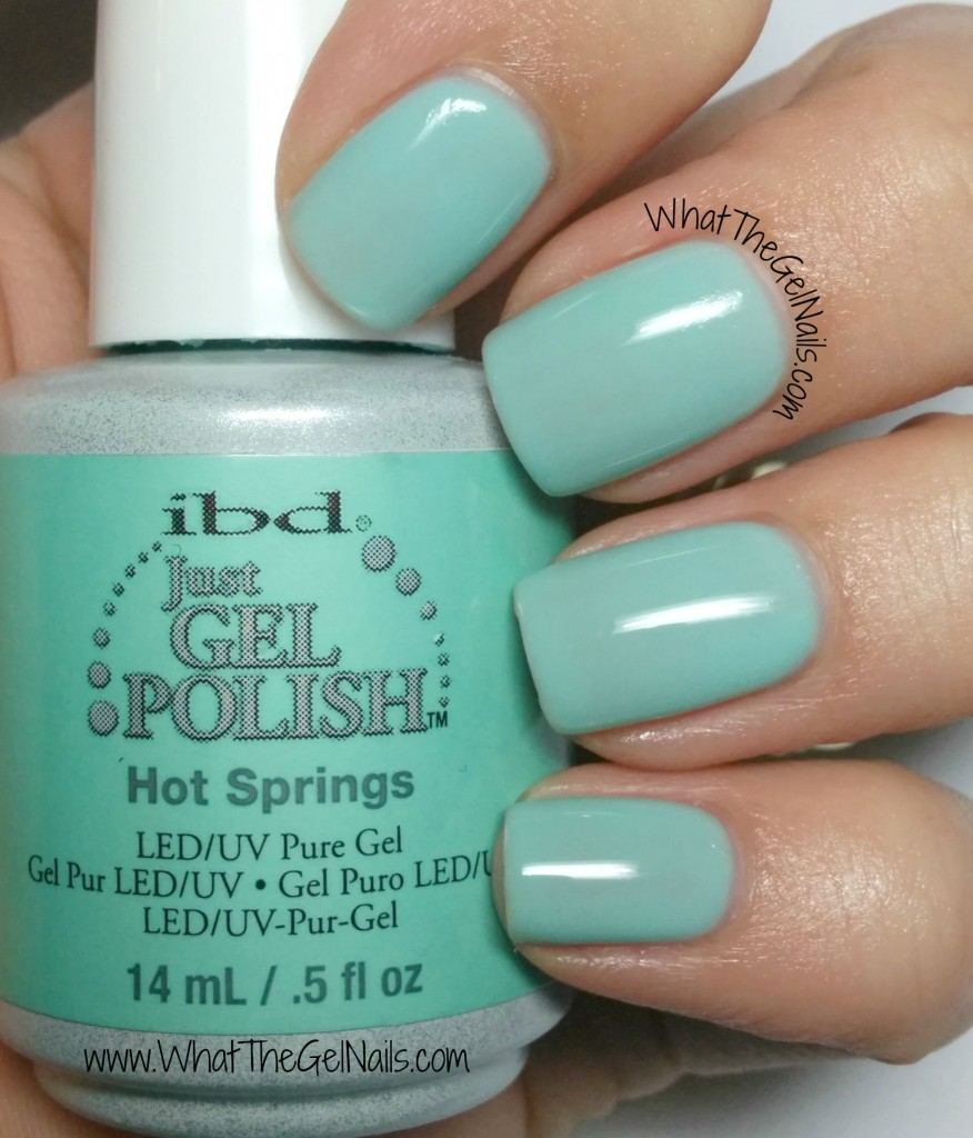 IBD Hot Springs, plus more IBD Just Gel Swatches for Spring