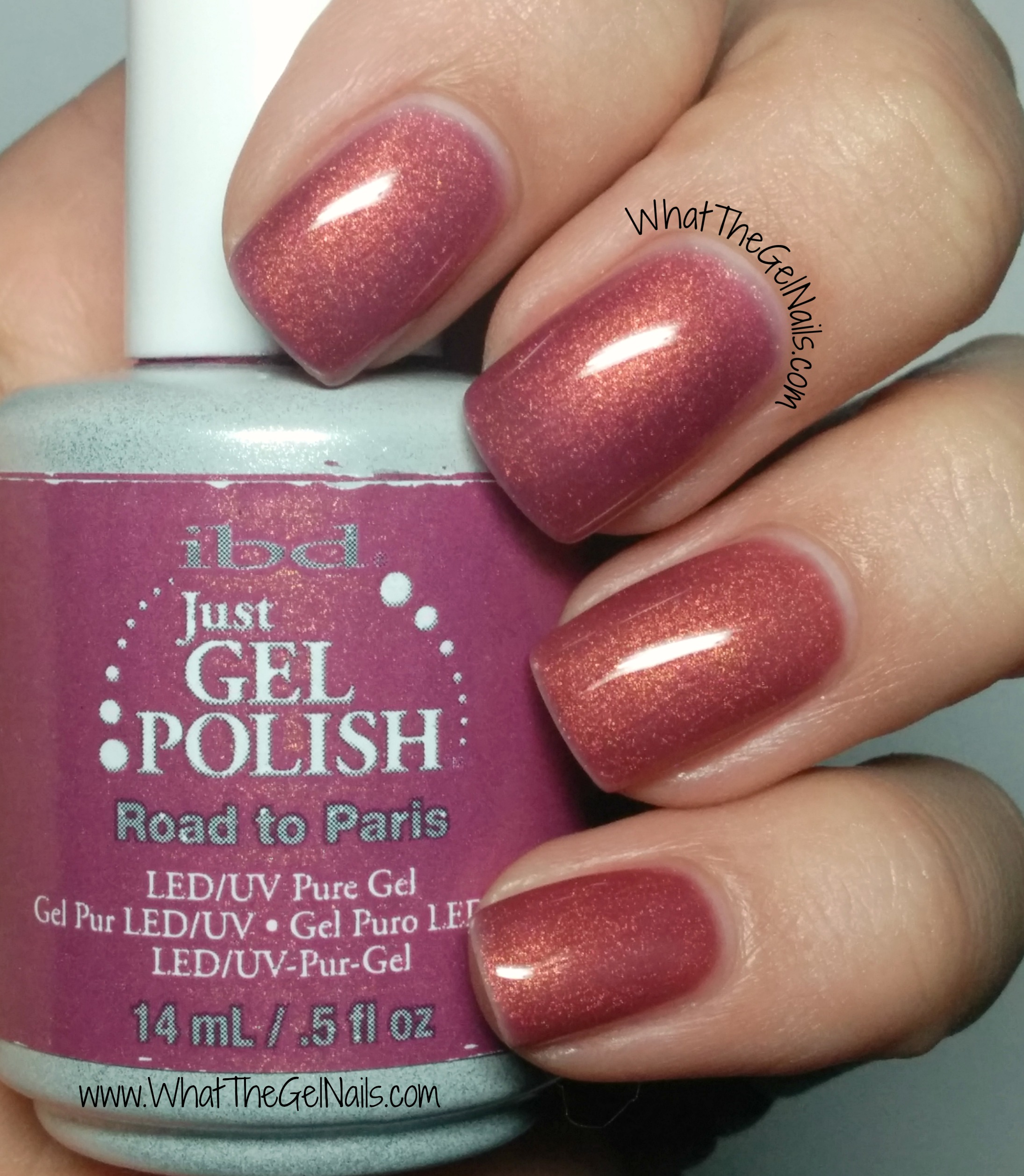 Gel Nail Polish Colors: 4 Pink IBD Just Gel Nail Polish Colors