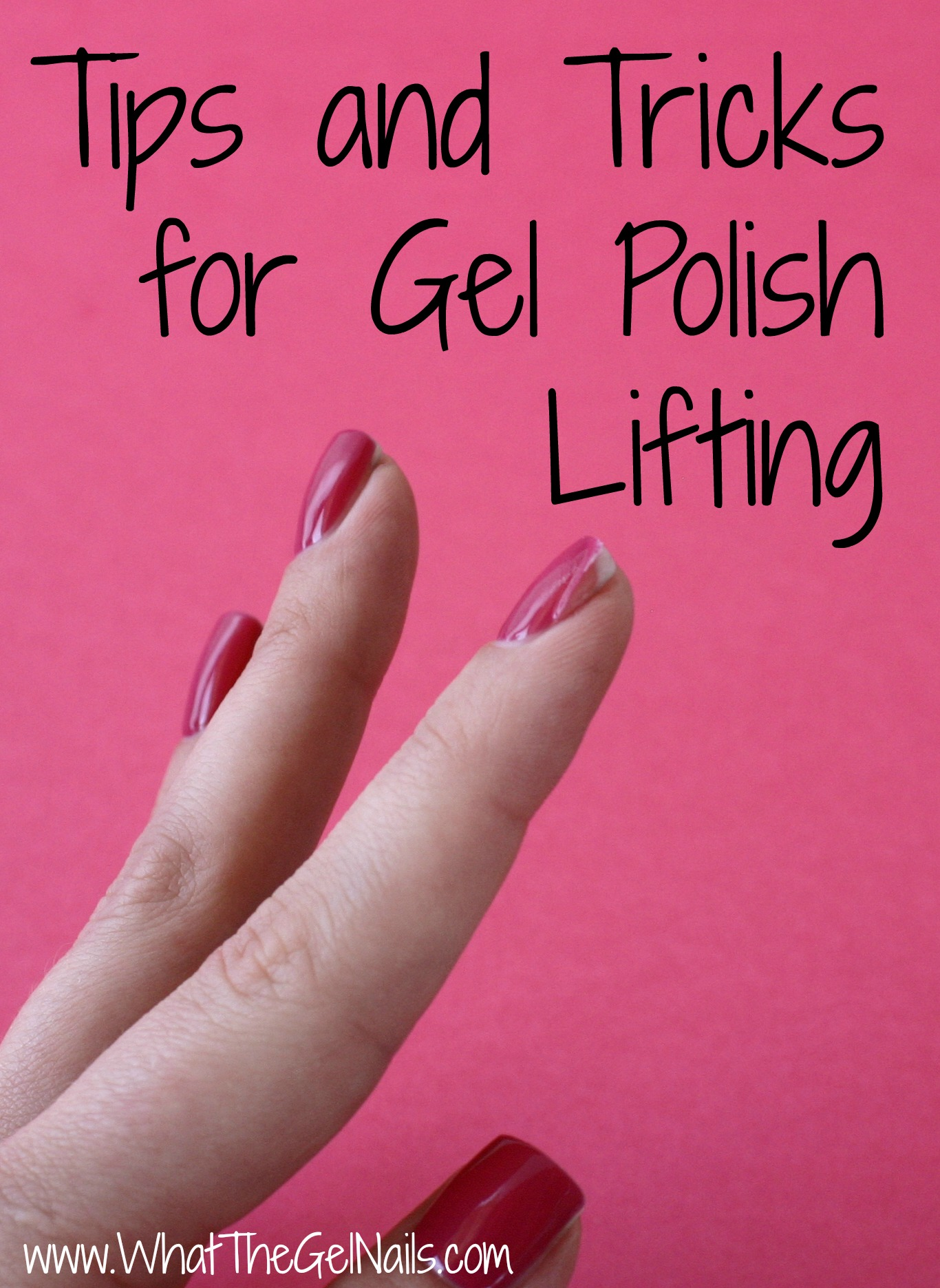 Tips and tricks for gel polish lifting solutioingenieria