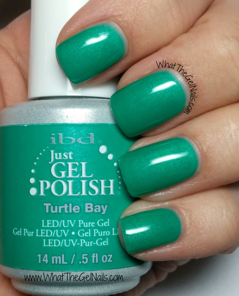 IBD Turtle Bay, plus more IBD Just Gel Swatches for Spring