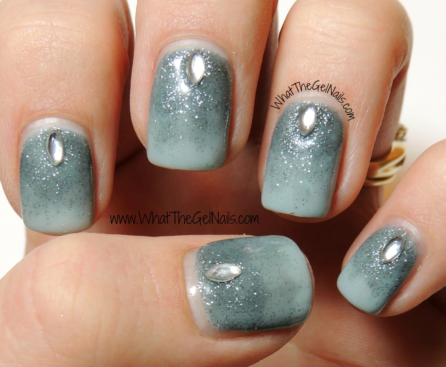 Simple Nail Designs With Jewels: Easy rhinestone nail designs for ...