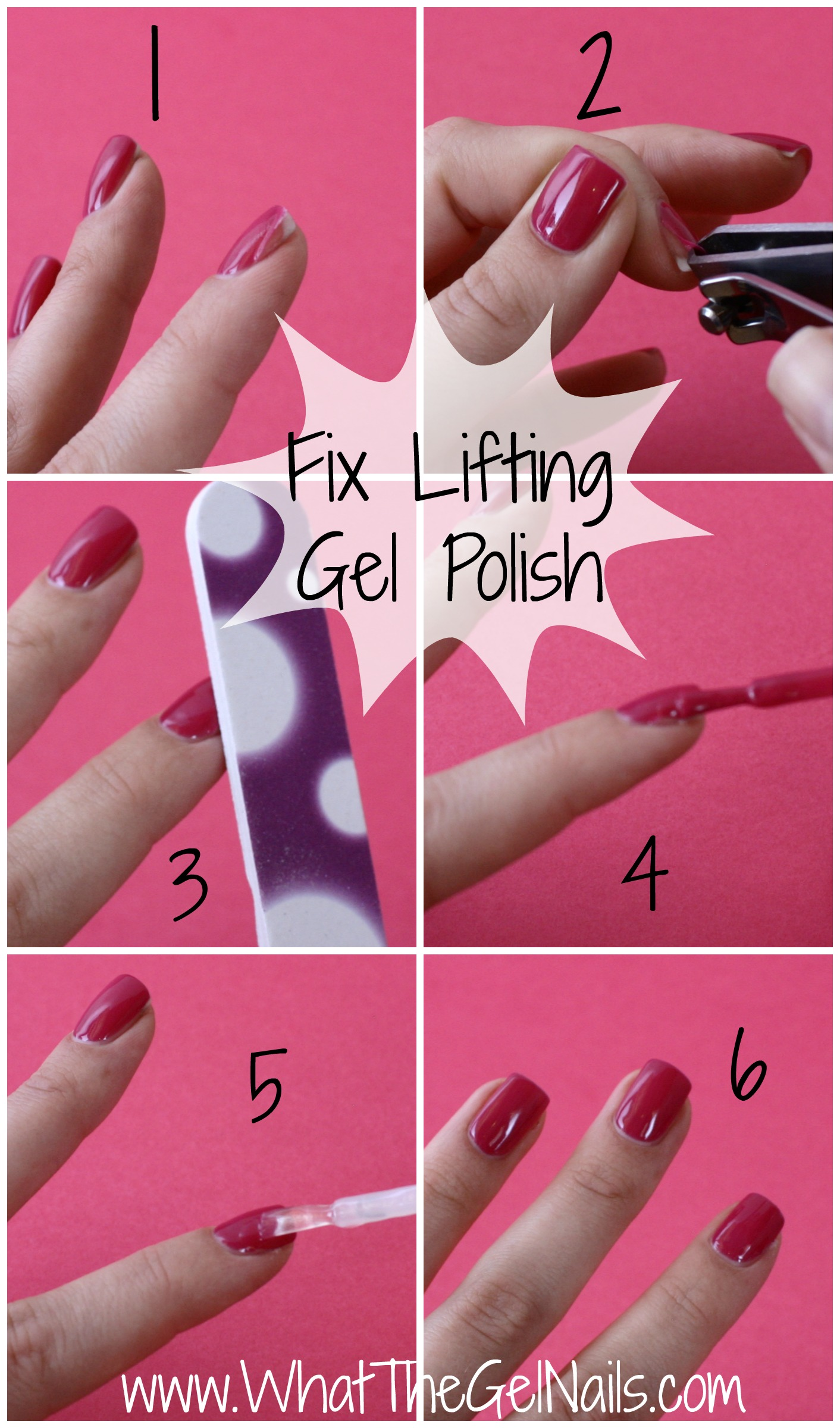 Tips and tricks for gel polish lifting fix lifting gel polish in just 5 steps plus more tips and tricks for gel solutioingenieria Choice Image