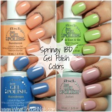 Springy IBD Gel Polish Colors