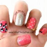 Disney Gel Polish Manicure