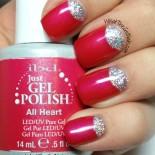 Gel Polish Glitter Nails for My Birthday