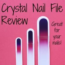 Crystal Nail File Review